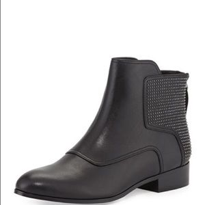 Pour La Victoire Keon Studded Ankle Leather Boot